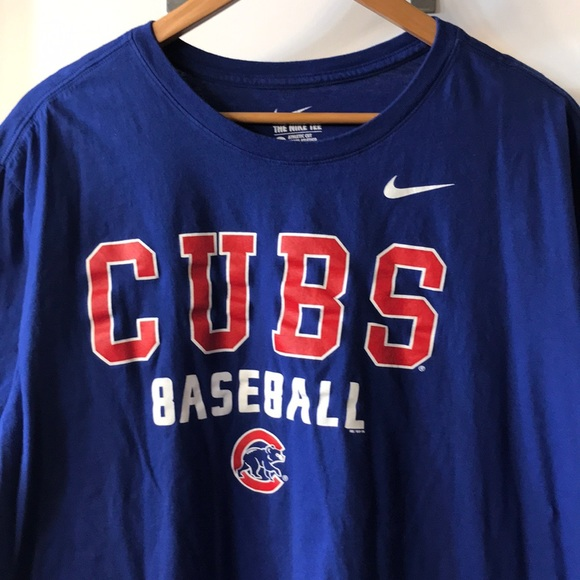 new arrival 78739 a9f0e Chicago Cubs Nike Tee Shirt